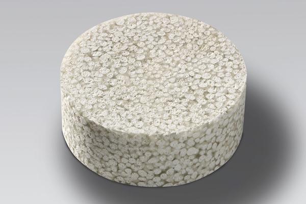 Foto eines zellularen Verbungwerkstoffs mit Poraver