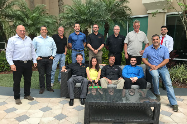 Group picture of all participants of the workshop in Orlando