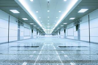 Slider hallway