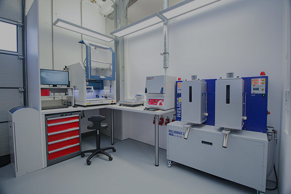 Labor Probenvorbereitung
