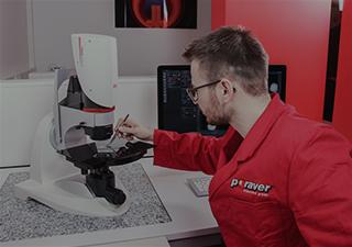 Digitale Lichtmikroskopie Poraver Kundenservice Center