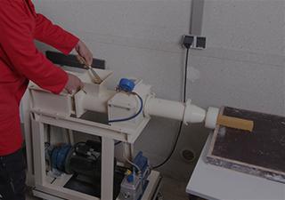 Vakuumextruder Poraver Kundenservice Cneter