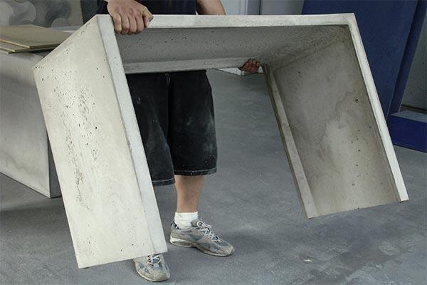 Lighweight Concrete Furniture